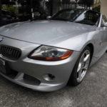 入庫しました!2004年 BMW Z4-3.0 希少SMG 黒革 18インチ ハ-ドTOP付き 55万