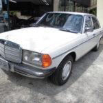 入庫しました!希少 1985年 ベンツ 230E W123 デイラー最終モデル 53.000キロ 168万